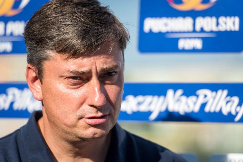 Trener Lecha Poznań Maciej Skorża /Fot. Tytus Żmijewski /PAP
