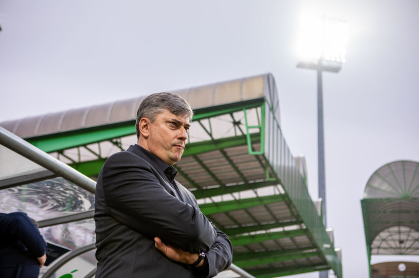 Trener Lecha Poznań Maciej Skorża /PRZEMYSLAW SZYSZKA / CYFRASPORT / NEWSPIX.PL /Newspix