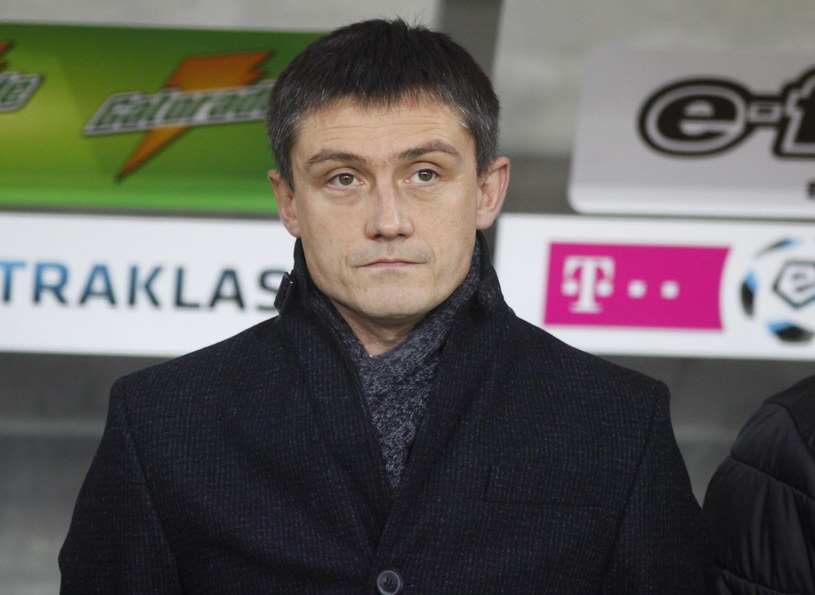 Trener Lecha Poznań Mariusz Rumak /Fot. Michał Walczak /PAP