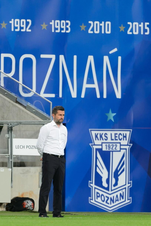 Trener Lecha Poznań Nenad Bjelica /Jakub Kaczmarczyk /PAP