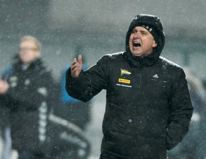 Trener Lechii Gdańsk Bogusław Kaczmarek /Fot. Bartłomiej Zborowski /PAP