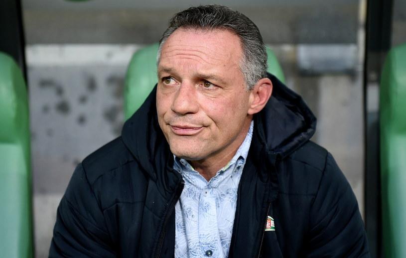 Trener Lechii Gdańsk Piotr Nowak /Fot. Jan Dzban /PAP
