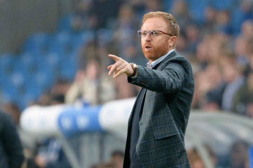 Trener Lechii Gdańsk Piotr Stokowiec /Jakub Kaczmarczyk /PAP