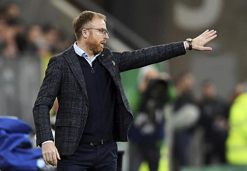 Trener Lechii Gdańsk Piotr Stokowiec /Adam Warżawa /PAP