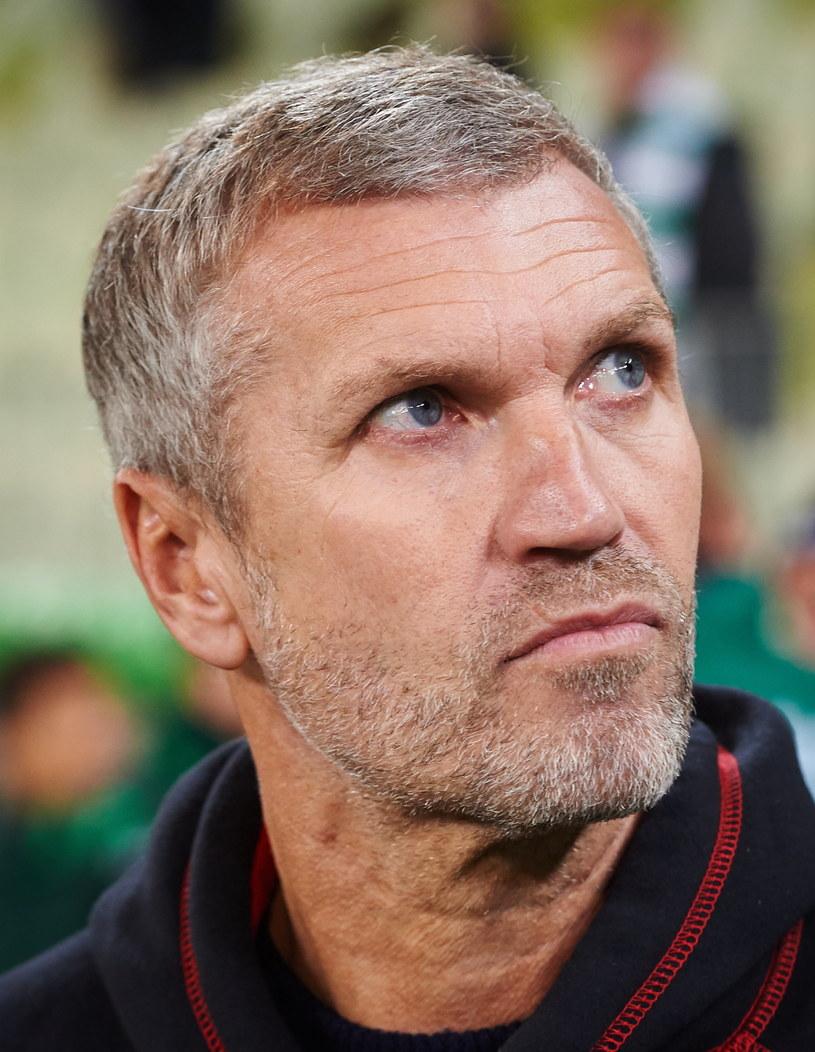 Trener Lechii Gdańsk Thomas von Heesen /Fot. Adam Warżawa /PAP