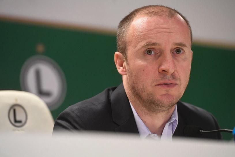 Trener Legii Warszawa Aleksandar Vuković /Piotr Nowak /PAP