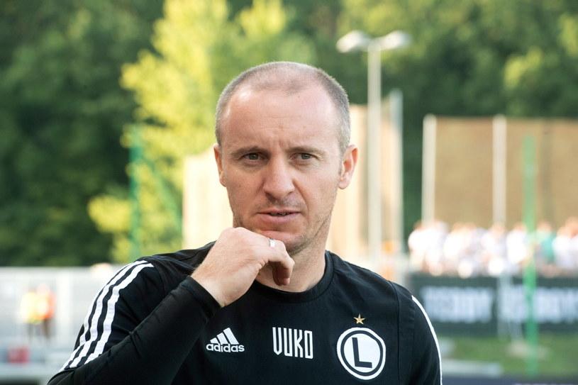 Trener Legii Warszawa Aleksandar Vuković /Grzegorz Michałowski /PAP