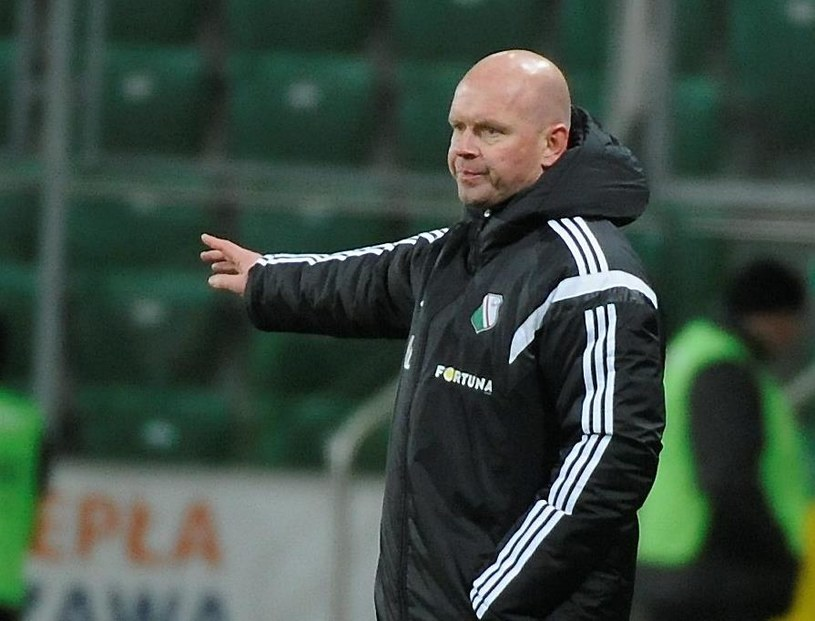 Trener Legii Warszawa Henning Berg /Fot. Bartłomiej Zborowski /PAP