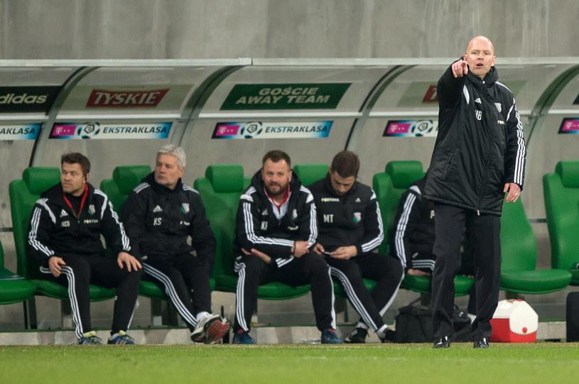 Trener Legii Warszawa Henning Berg /Fot. Maciej Kulczyński /PAP