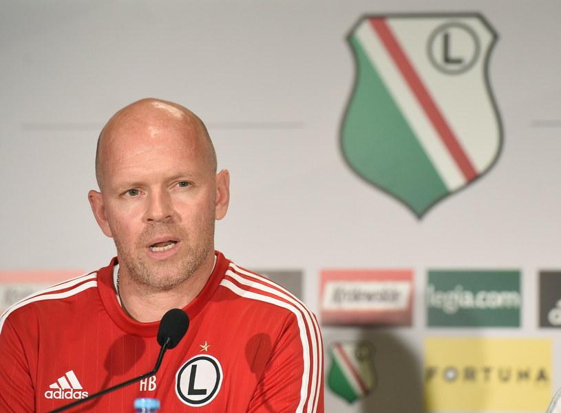 Trener Legii Warszawa Henning Berg /Fot. Radek Pietruszka /PAP
