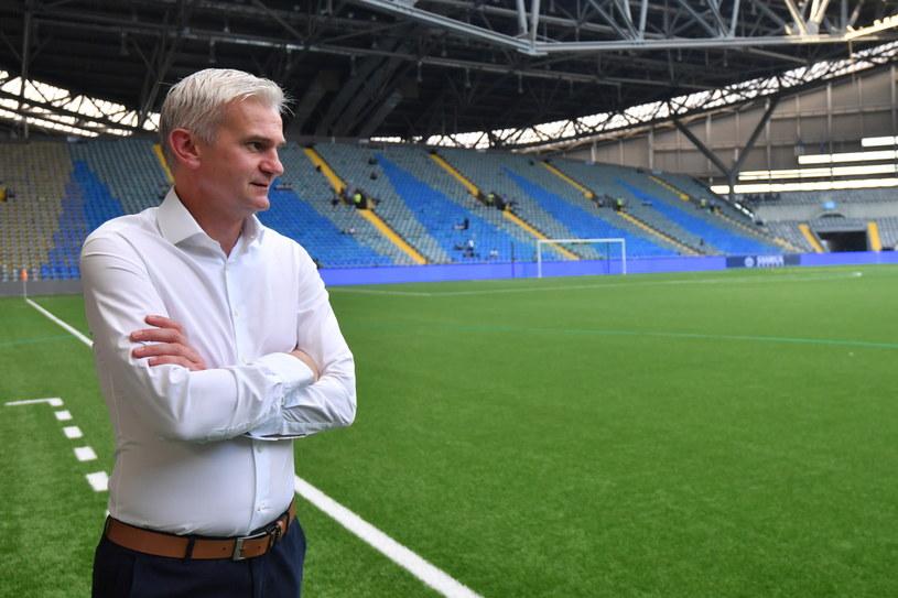Trener Legii Warszawa Jacek Magiera /Bartłomiej Zborowski /PAP