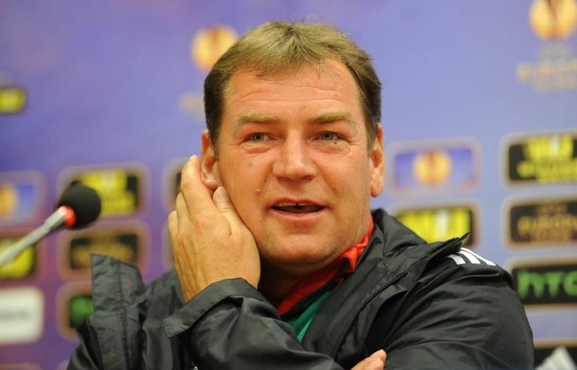 Trener Legii Warszawa Jan Urban /Fot. Bartłomiej Zborowski /PAP