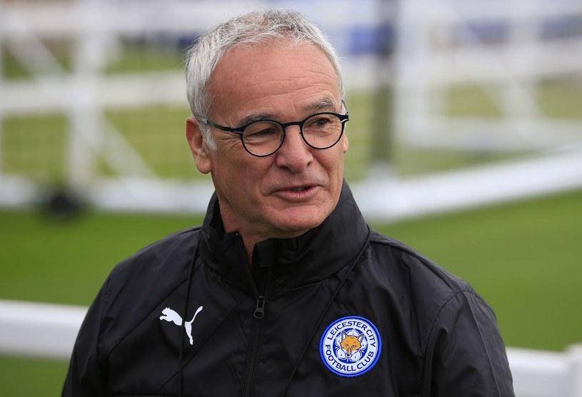 Trener Leicester City Claudio Ranieri /AFP