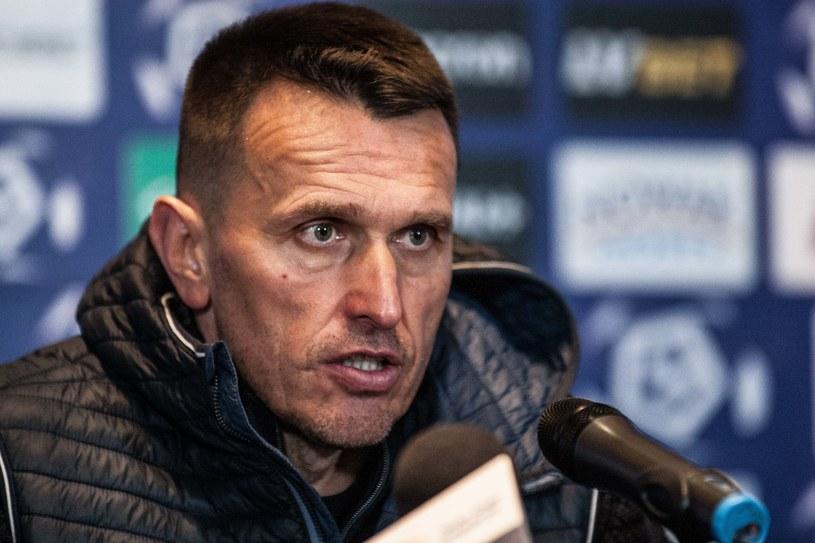 Trener Leszek Ojrzyński /Bartek Ziółkowski /Newspix