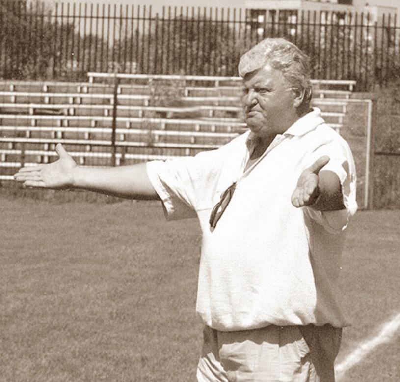 Trener Lucjan Franczak. /Wacław Klag /East News