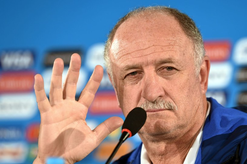 Trener Luiz Felipe Scolari /AFP