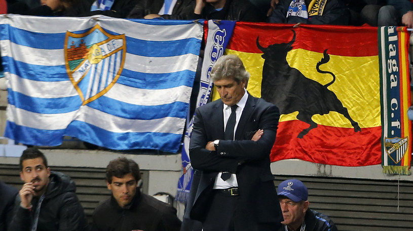 Trener Malagi Manuel Pellegrini /AFP