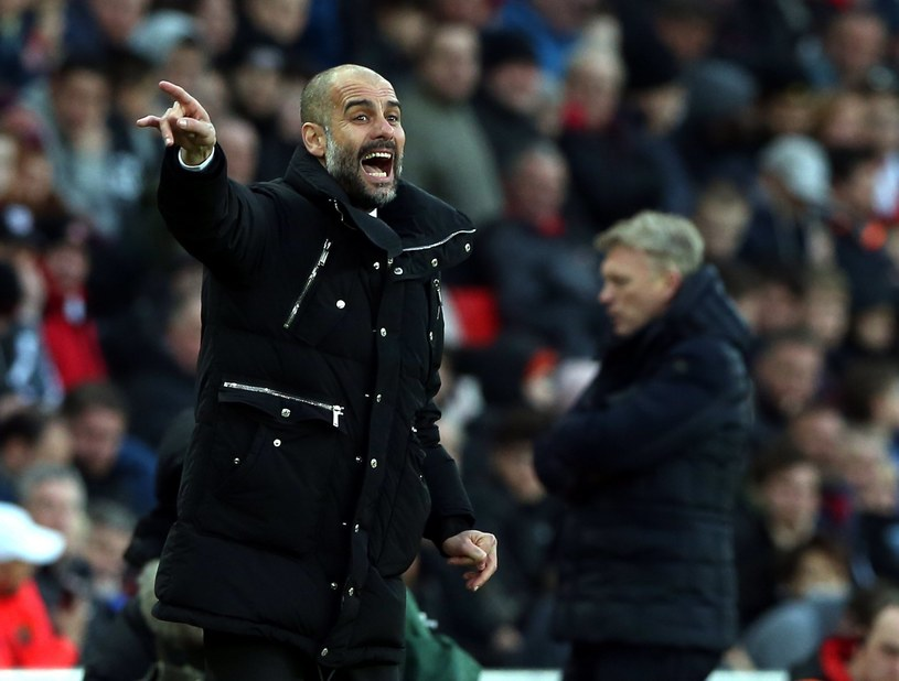 Trener Manchesteru City Pep Guardiola /PAP/EPA