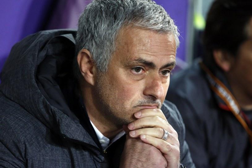 Trener Manchesteru United Jose Mourinho /PAP/EPA