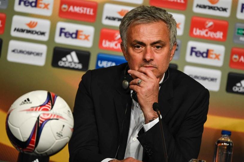 Trener Manchesteru United Jose Mourinho /AFP