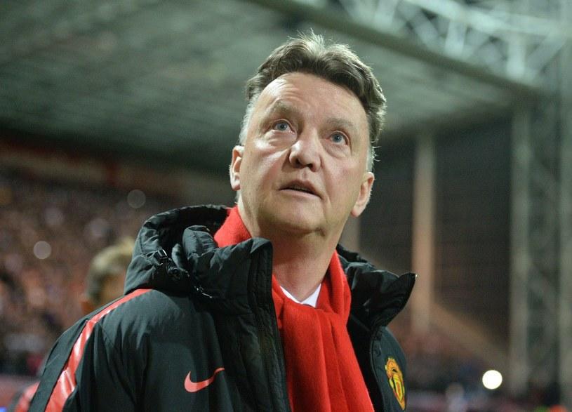 Trener Manchesteru United Louis van Gaal /AFP