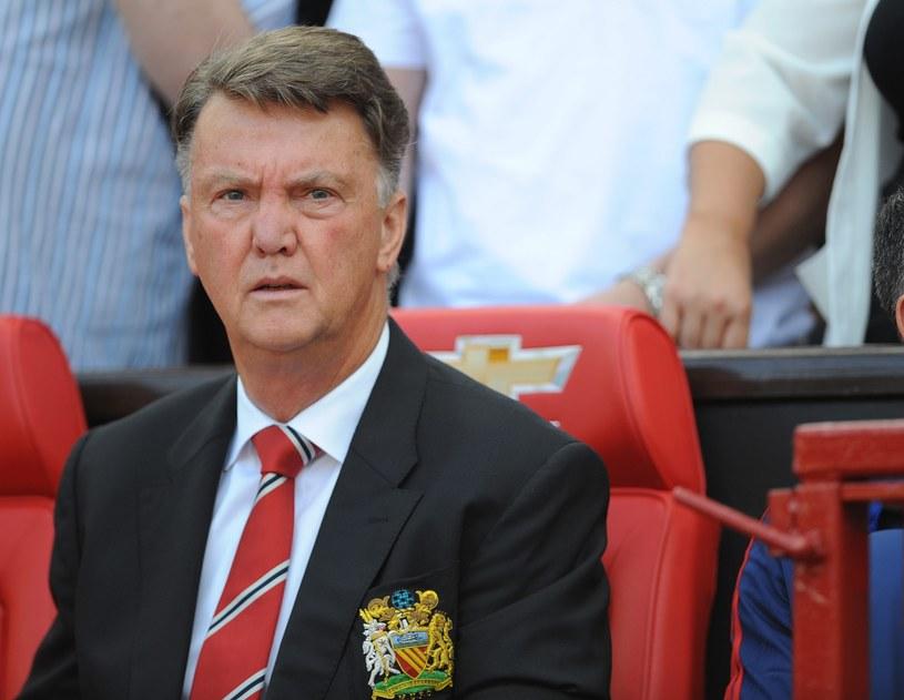Trener Manchesteru United Louis van Gaal /PAP/EPA