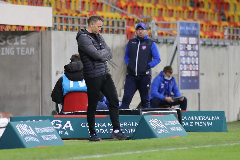 Trener Marek Papszun z Rakowa Częstochowa /Maciej Gilewski /Newspix