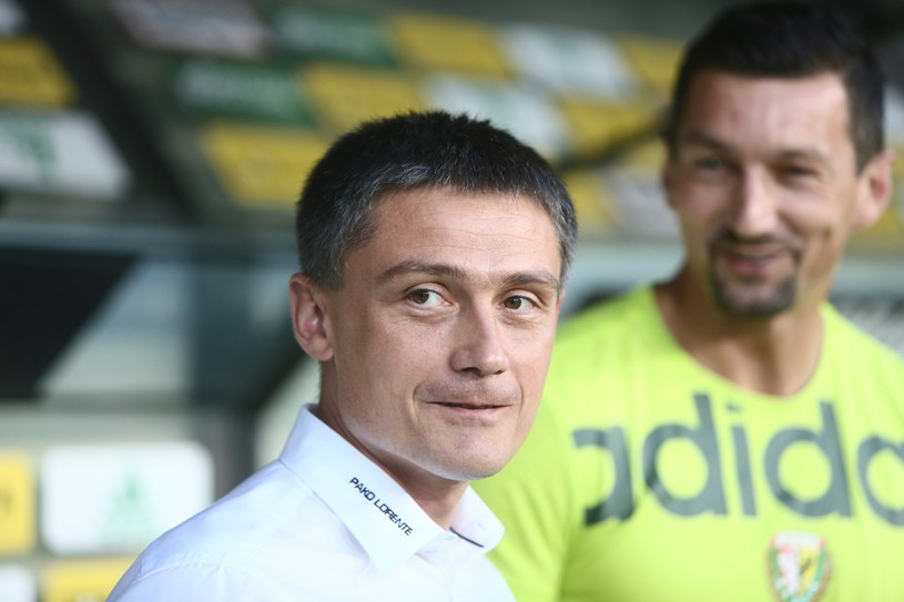 Trener Mariusz Rumak /Leszek Szymański /PAP
