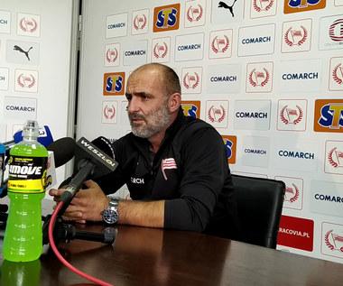 Trener Michał Probierz przed meczem z Pogonią Szczecin. Wideo