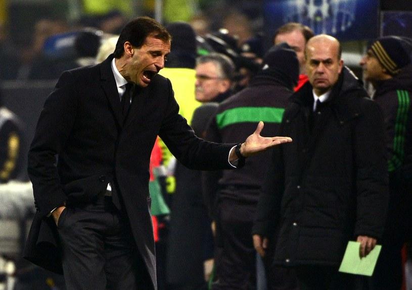 Trener Milanu Massimiliano Allegri /AFP