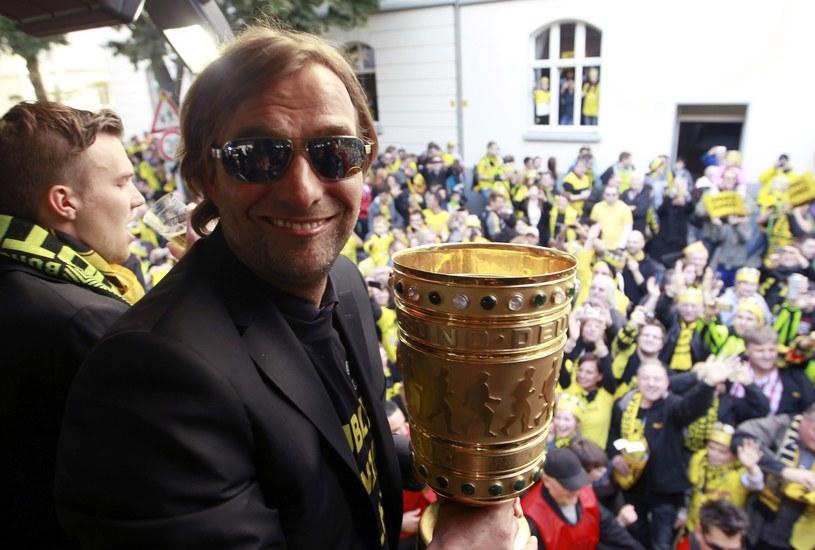 Trener mistrza Niemiec Borussii Dortmund Juergen Klopp /AFP