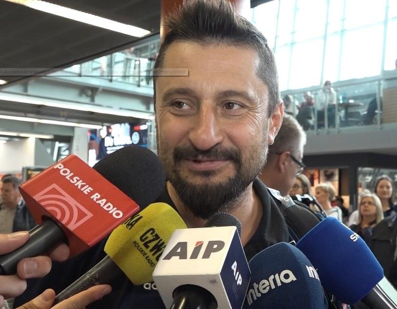 Trener MKS Będzin Jakub Bednaruk /Zbigniew Czyż /INTERIA.TV