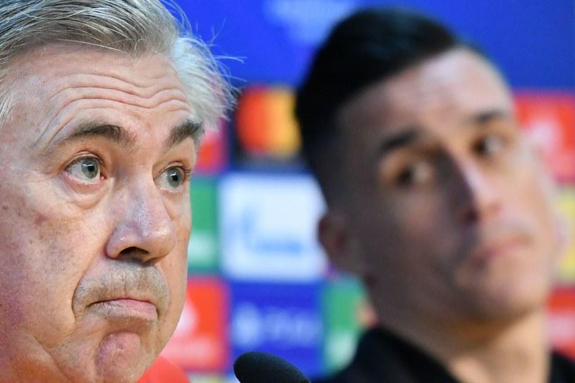 Trener Napoli Carlo Ancelotti /AFP