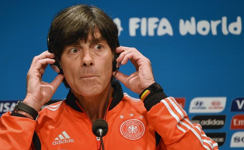 Trener Niemców Joachim Loew /AFP