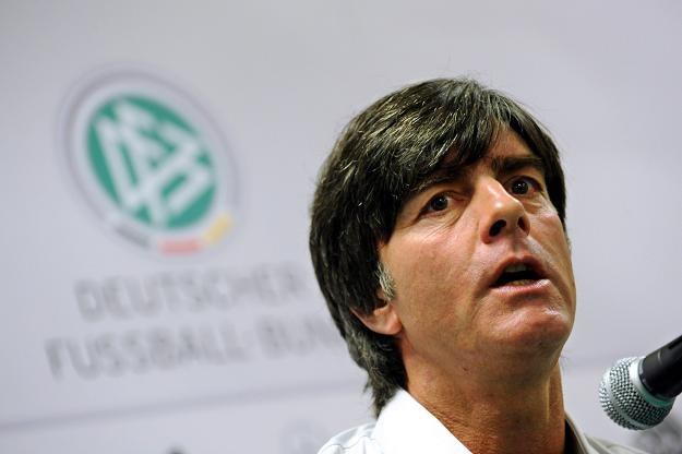 Trener niemieckiej reprezentacji - Joachim Loew. /PAP/EPA