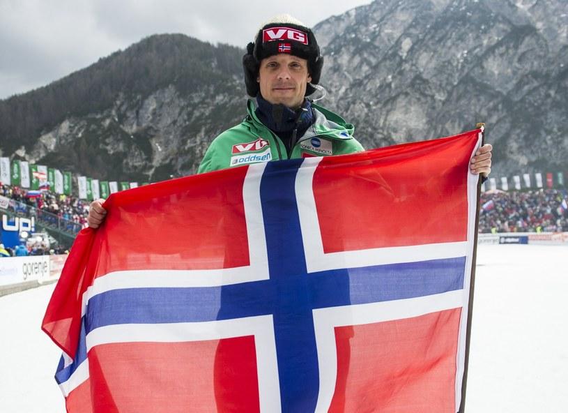 Trener norweskich skoczków narciarskich Alexander Stoeckl /AFP