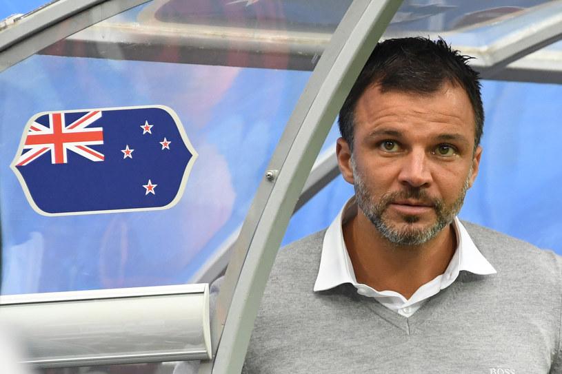 Trener Nowej Zelandii Anthony Hudson /AFP