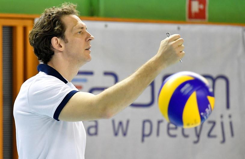 Trener Onico Warszawa Stephane Antiga /PAP