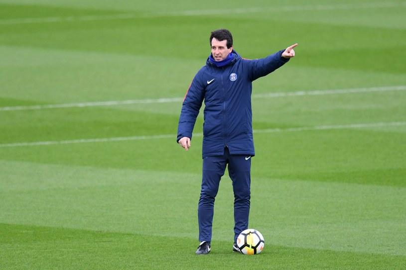 Trener Paris Saint-Germain Unai Emery /AFP
