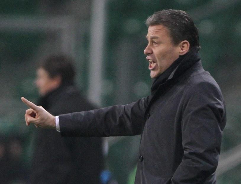 Trener Pavel Hapal /- /PAP
