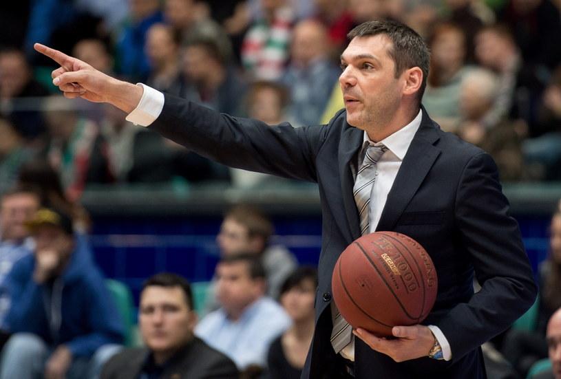 Trener PGE Turów Zgorzelec Miodrag Rajković /Fot. Maciej Kulczyński /PAP