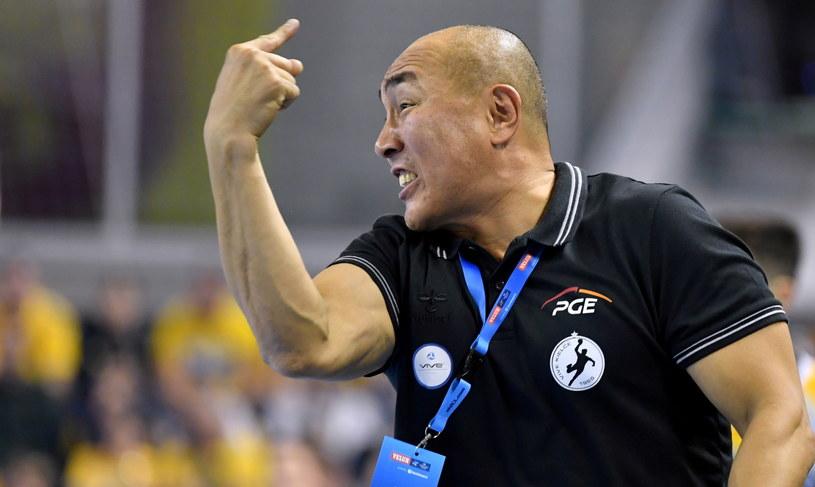 Trener PGE Vive Kielce Tałant Dujszebajew / Piotr Polak    /PAP