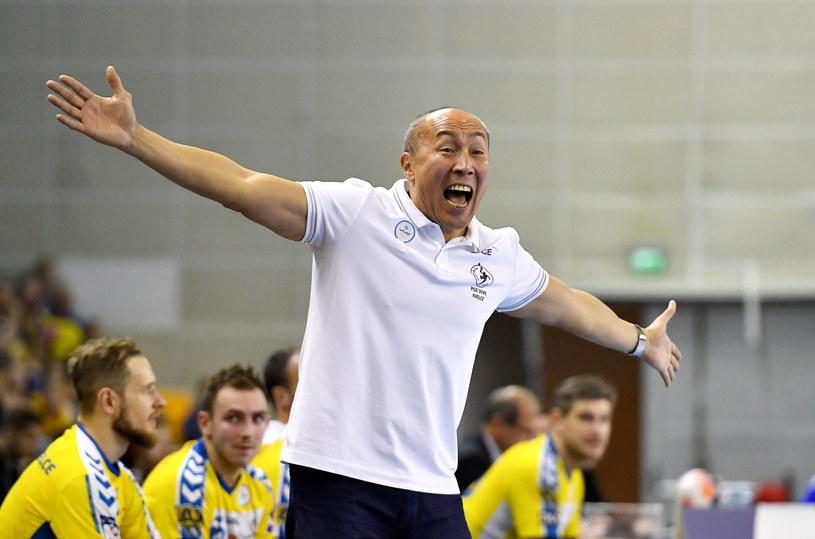 Trener PGE Vive Tałant Dujszebajew / Piotr Polak    /PAP