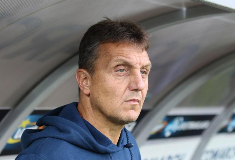 Trener Piasta Gliwice Jiri Necek /fot. Jacek Bednarczyk /PAP