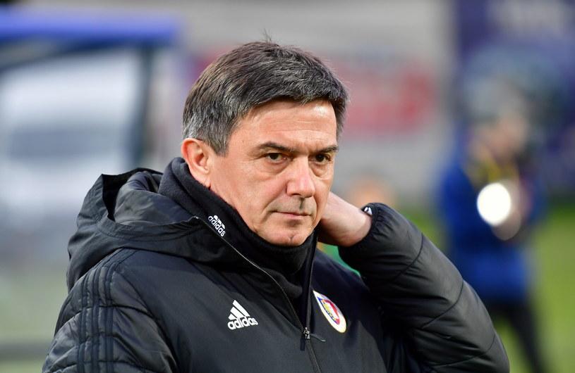 Trener Piasta Gliwice Waldemar Fornalik / Marcin Bielecki    /PAP
