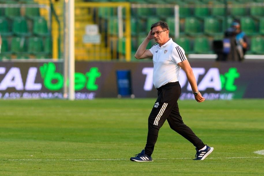 Trener Piasta Gliwice Waldemar Fornalik /Jakub Kaczmarczyk /PAP