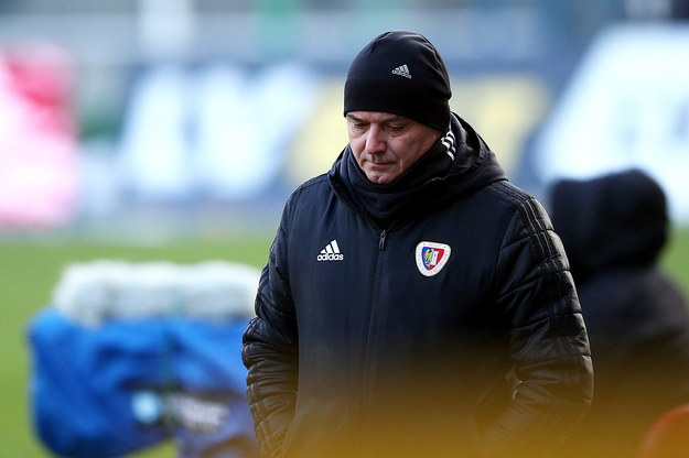 Trener Piasta Gliwice Waldemar Fornalik //Łukasz Gągulski /PAP