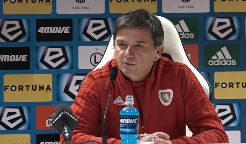 Trener Piasta Waldemar Fornalik /INTERIA.PL