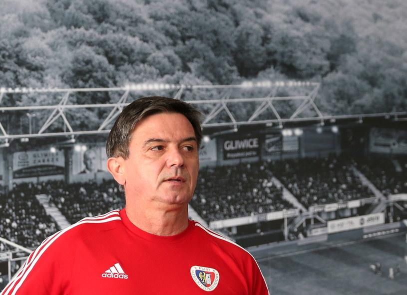 Trener Piasta Waldemar Fornalik / Andrzej Grygiel    /PAP