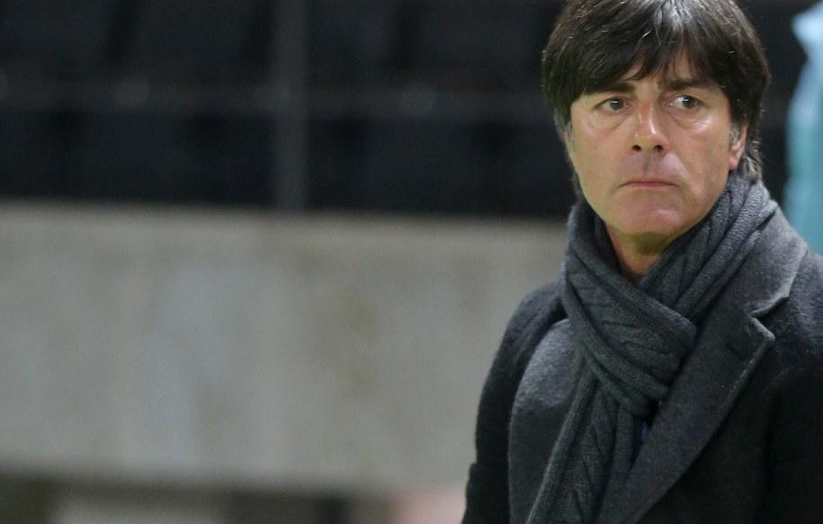 Trener piłkarskiej kadry Niemiec Joachim Loew /Kay Nietfeld  /PAP/EPA